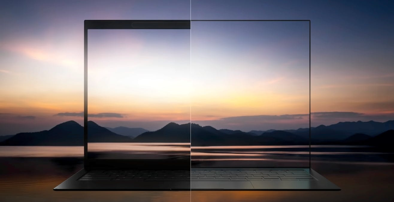 Con gli OLED di Samsung Display arriveranno notebook senza cornici e con webcam invisibile