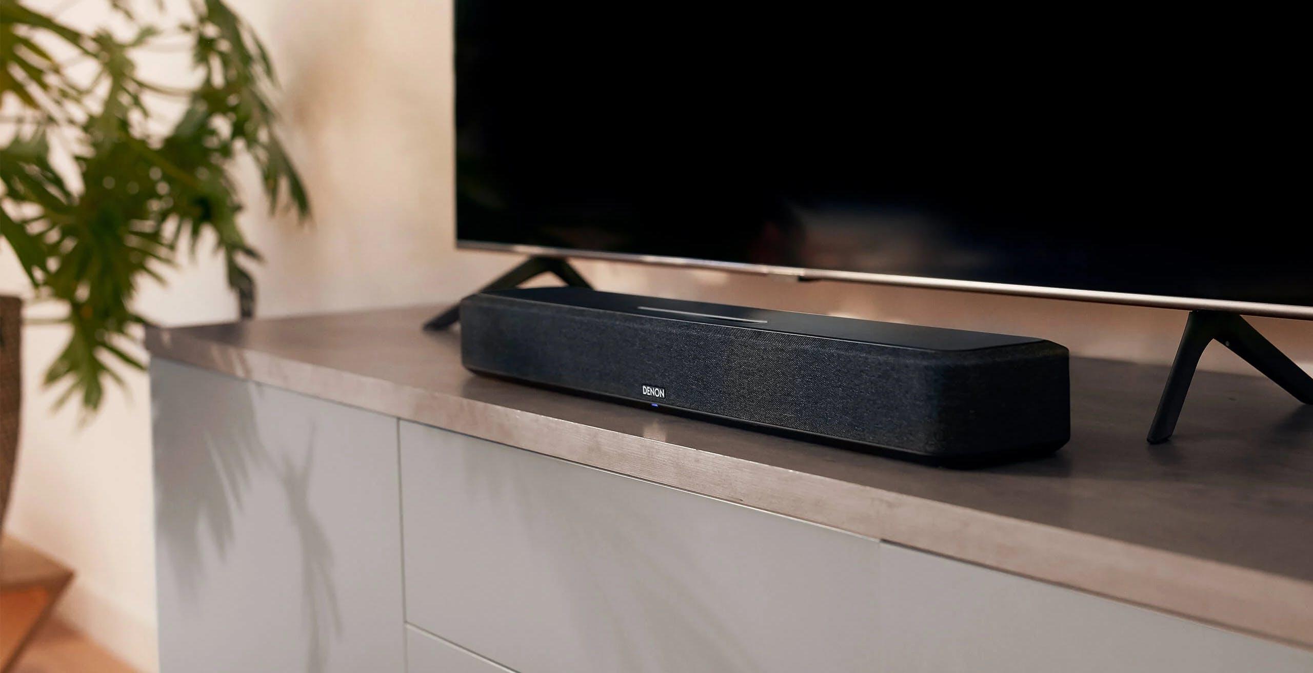 Denon lancia Home Sound Bar 550, la prima della nuova famiglia multiroom con Dolby Atmos e AirPlay 2