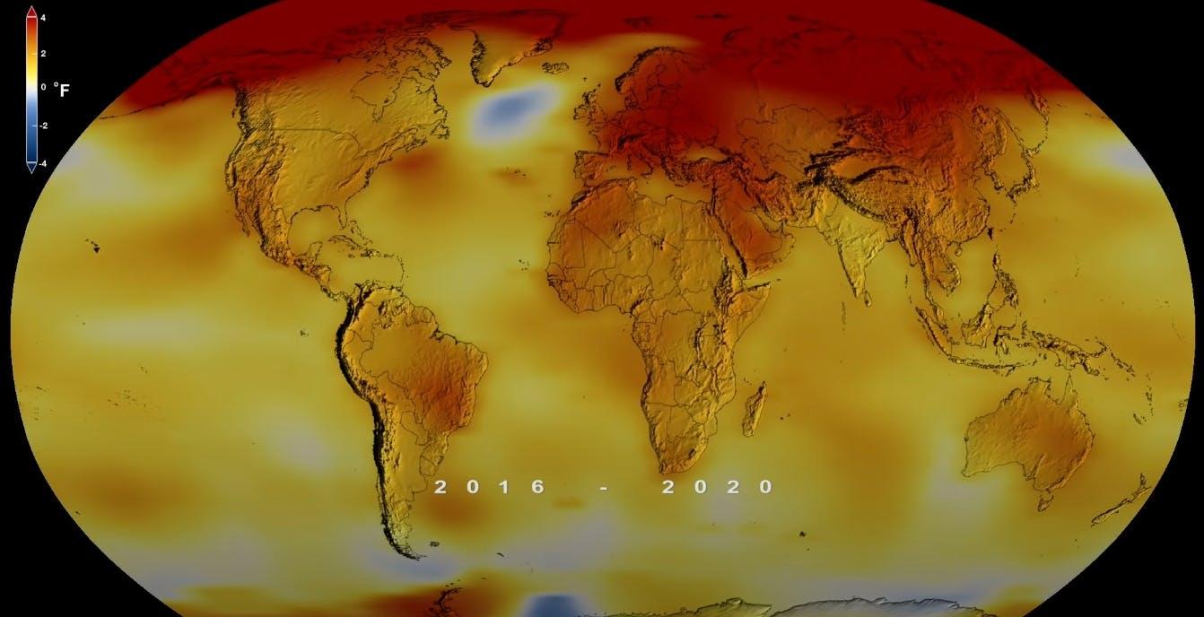 Il 2020 non è stato solo l'anno del COVID, ma anche il più caldo mai registrato