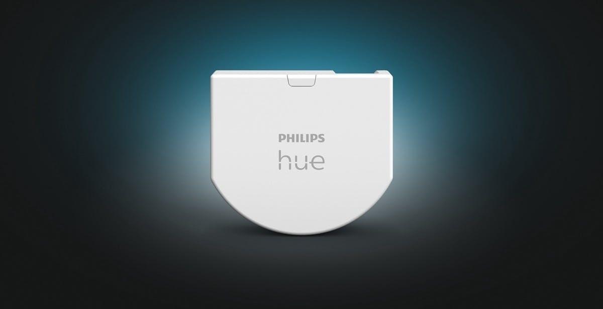 Philips Hue, con il Wall Switch Module si può bypassare il normale interruttore