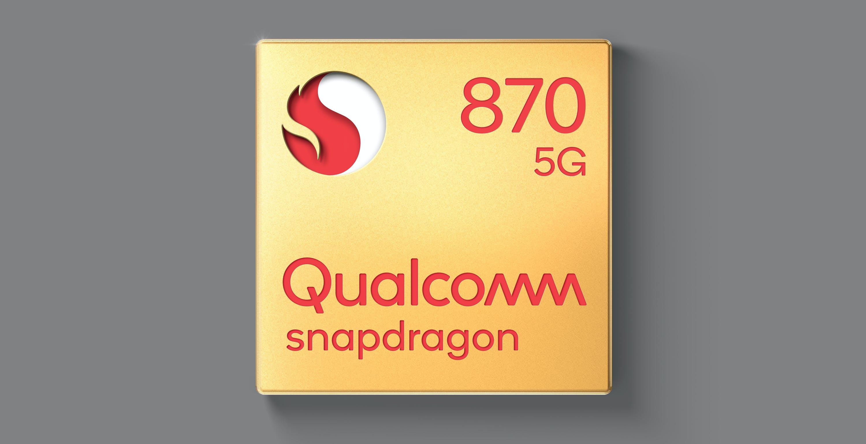 Qualcomm annuncia Snapdragon 870 5G. Rispetto allo Snapdragon 865 cambia solo il nome