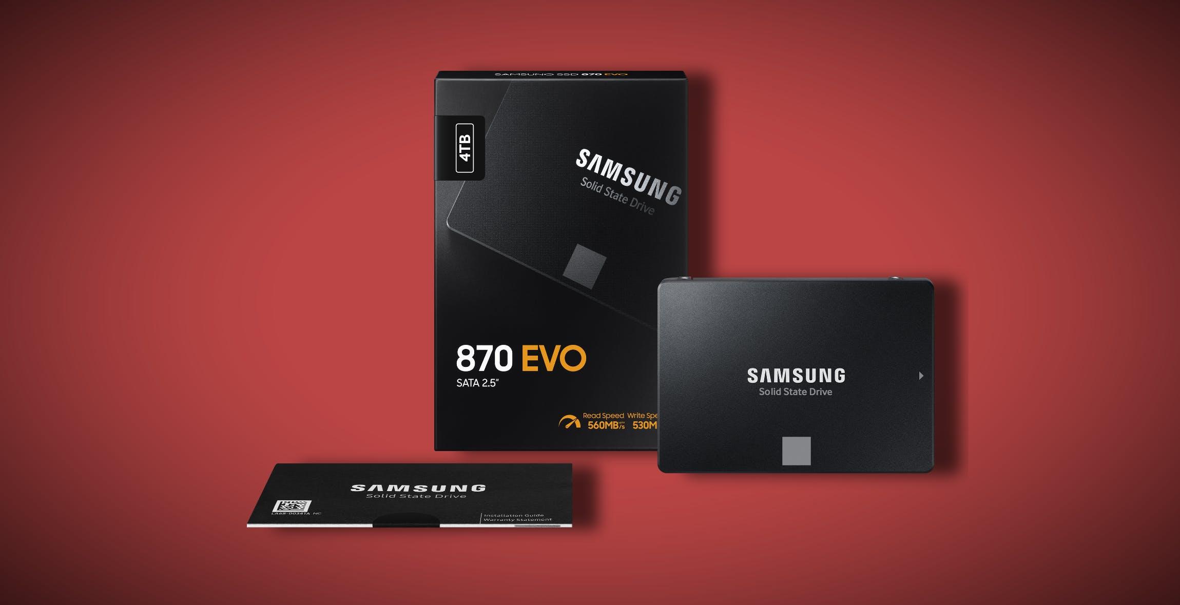 Samsung 870 EVO, i nuovi SSD consumer migliorano le prestazioni del 30% e costano poco