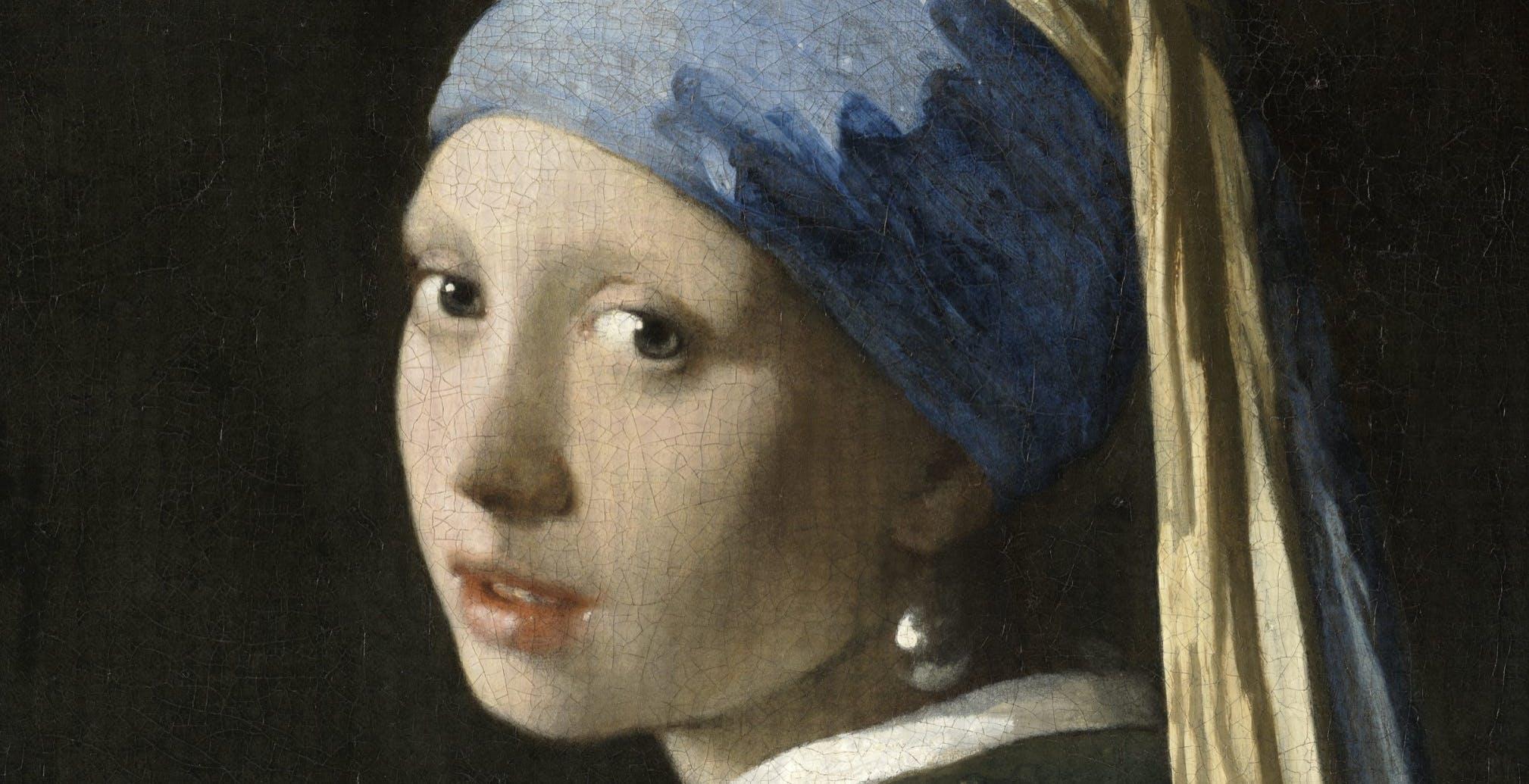 La Ragazza con l'orecchino di perla fotografata a una risoluzione di 10 miliardi di pixel. Il sito interattivo è spettacolare