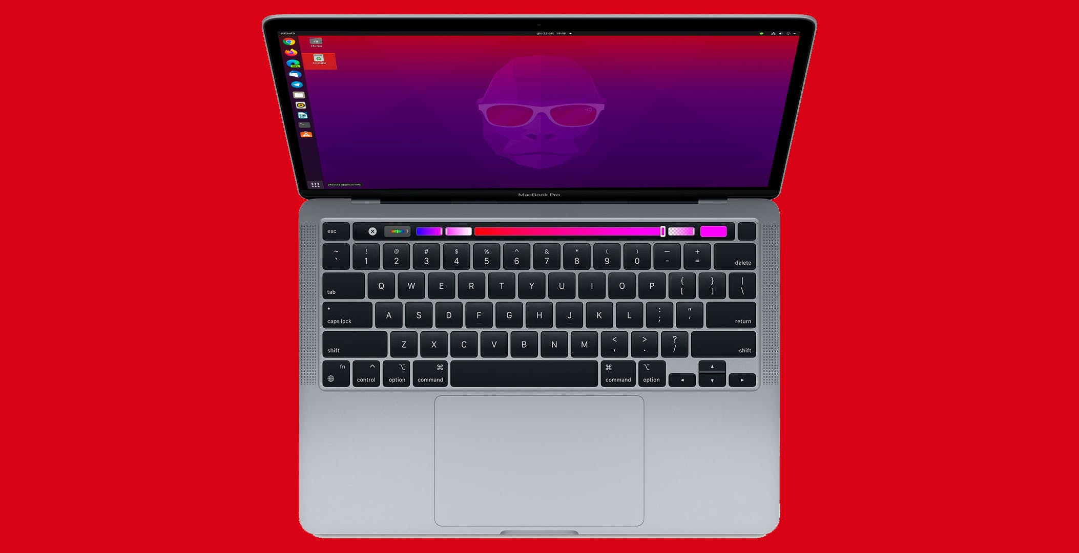 Ubuntu Linux si può installare sul MacBook con M1. E gira pure bene