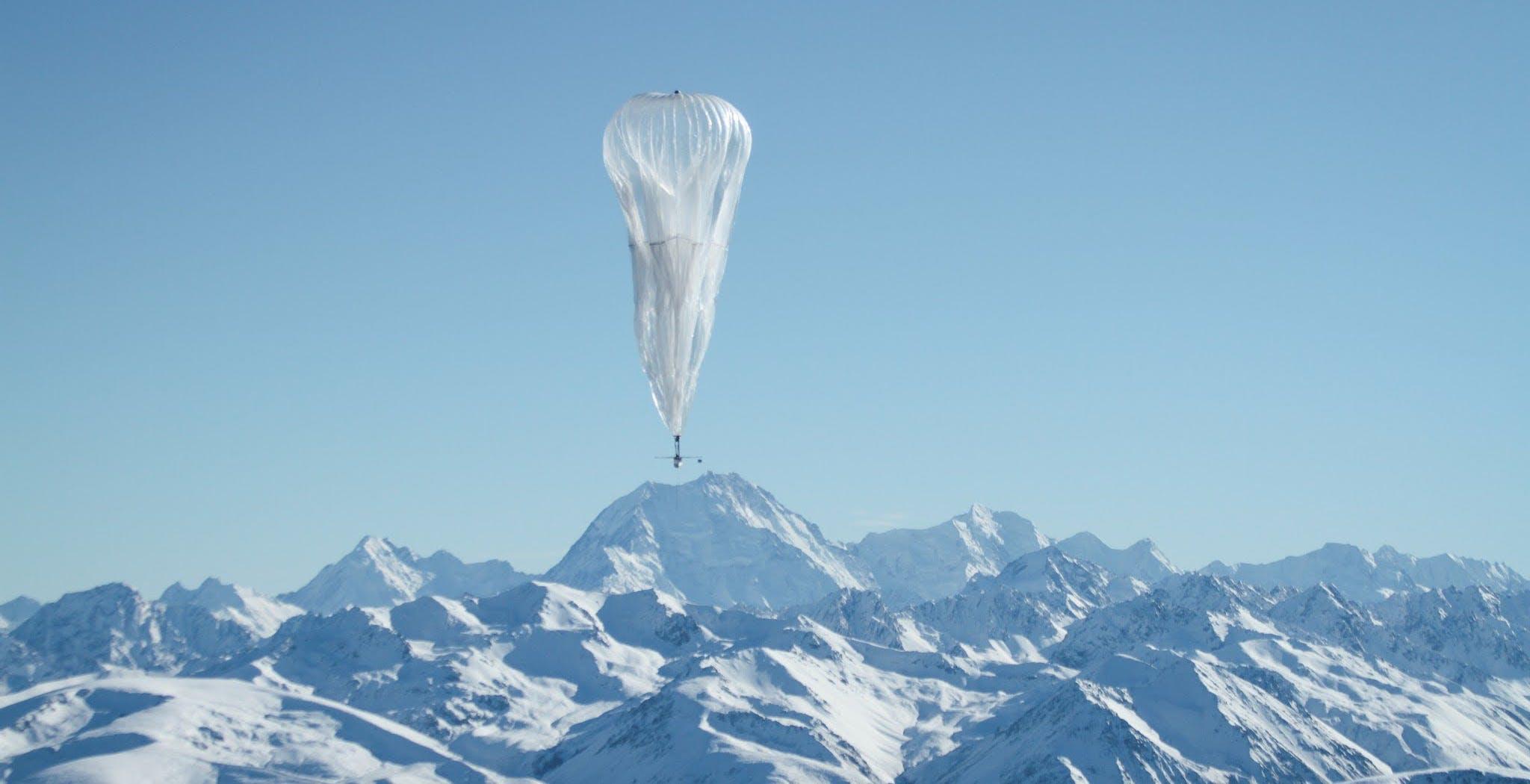 Google chiude Project Loon. Doveva portare Internet nelle aree disagiate tramite palloni aerostatici