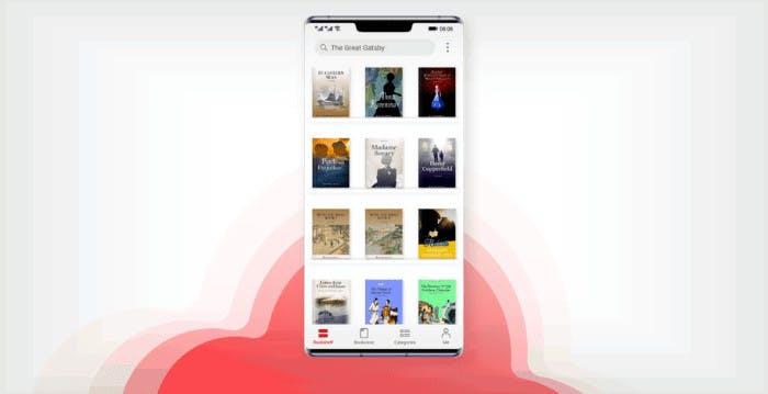 Nasce Huawei Books: nella libreria digitale disponibili oltre 20 mila libri