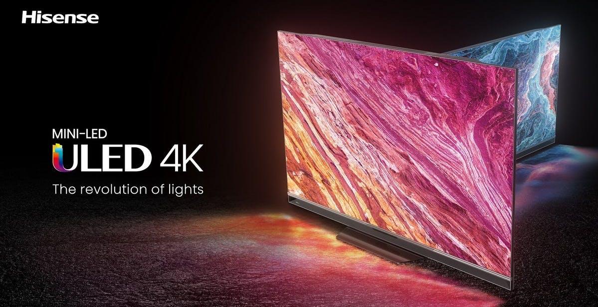 Nel 2021 di Hisense ci sono una nuova gamma OLED, il primo MiniLED e Laser TV da 120 pollici