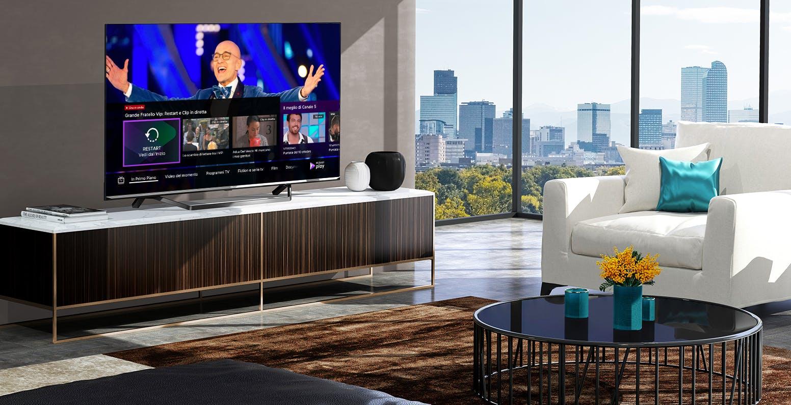 L'app di Mediaset Play arriverà sugli smart TV Hisense