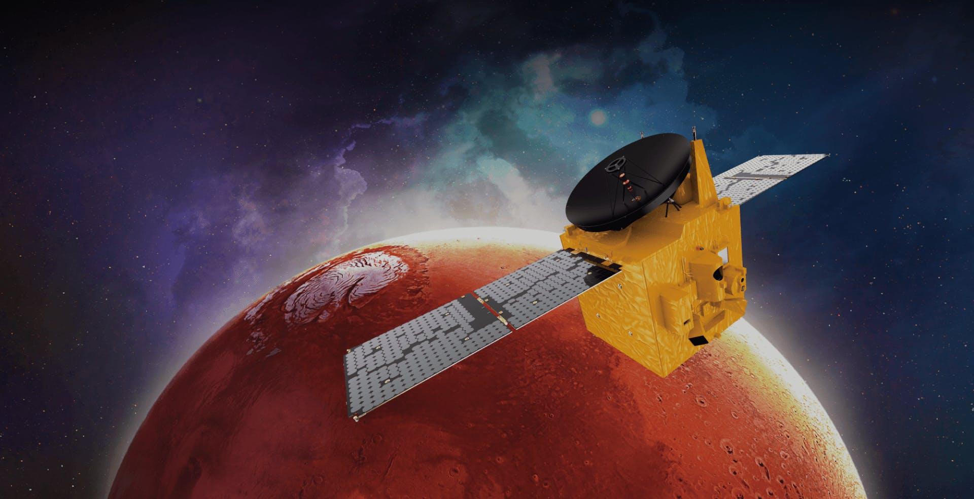In attesa dell'arrivo di Perseverance, Cina ed Emirati Arabi hanno conquistato Marte