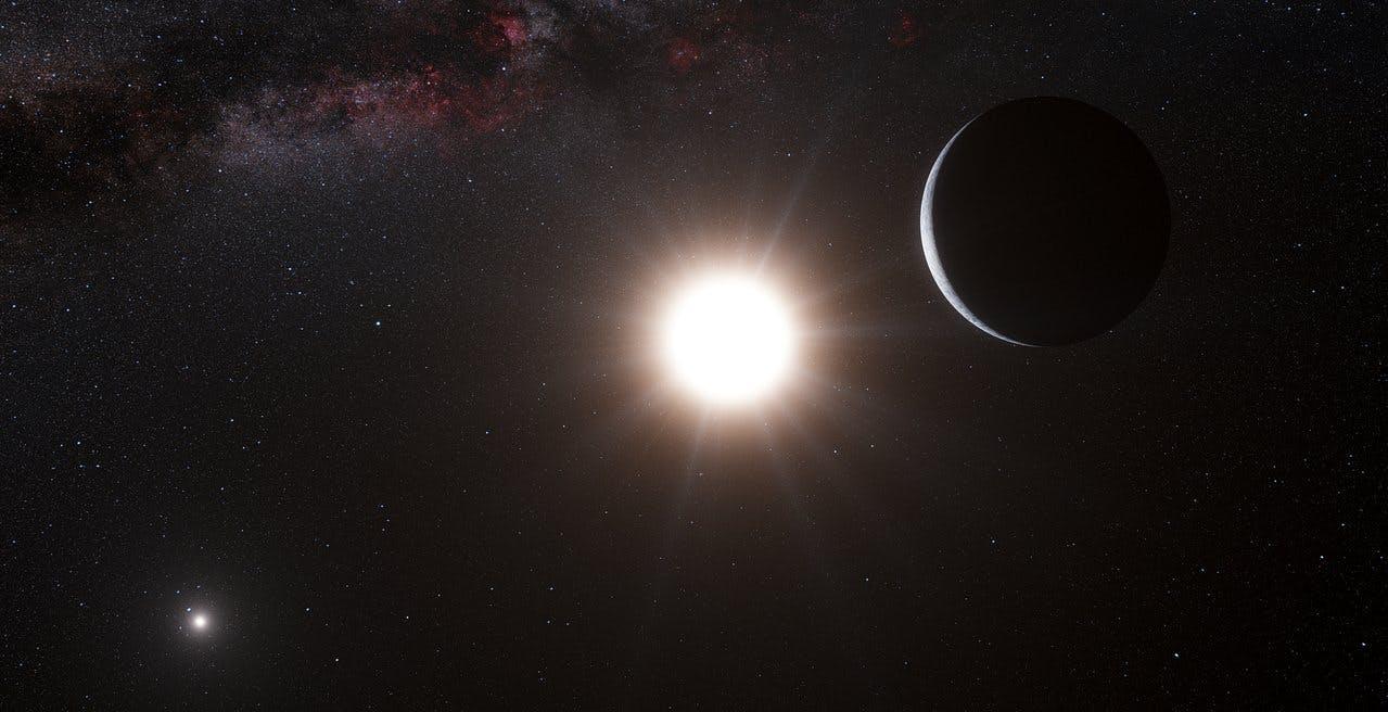 Il telescopio VLT in Cile potrebbe aver ripreso una Super Terra in orbita intorno ad Alpha Centauri A