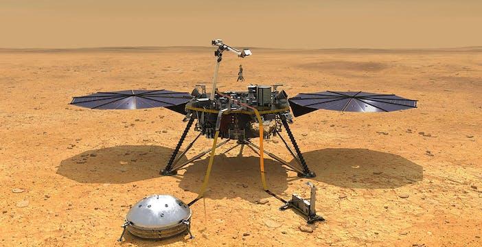 La dura realtà di Marte: la troppa sabbia costringe InSight a sospendere le attività