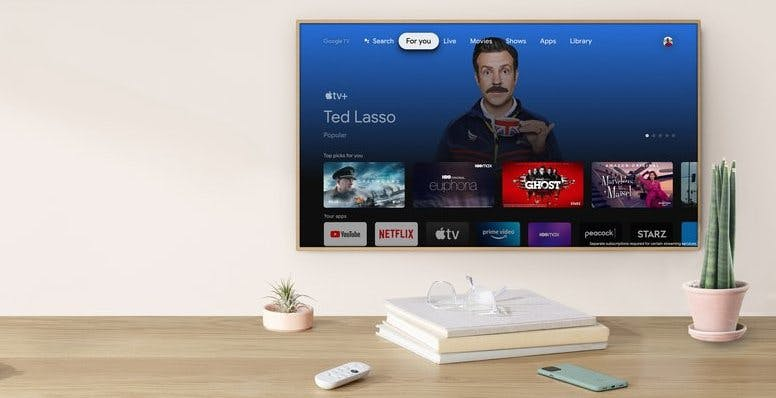 Apple TV+ è arrivato sulle Chromecast con Google TV