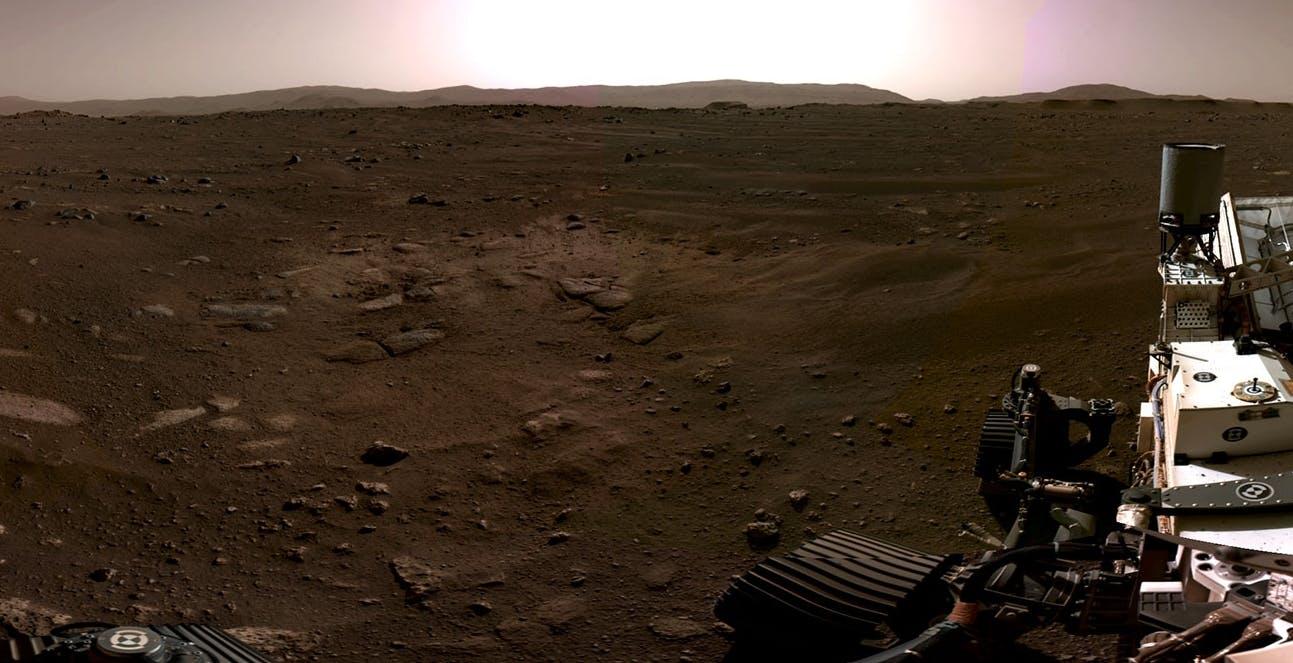 Lo spettacolare video dell'atterraggio di Perseverance su Marte. Un trionfo dell'ingegno umano