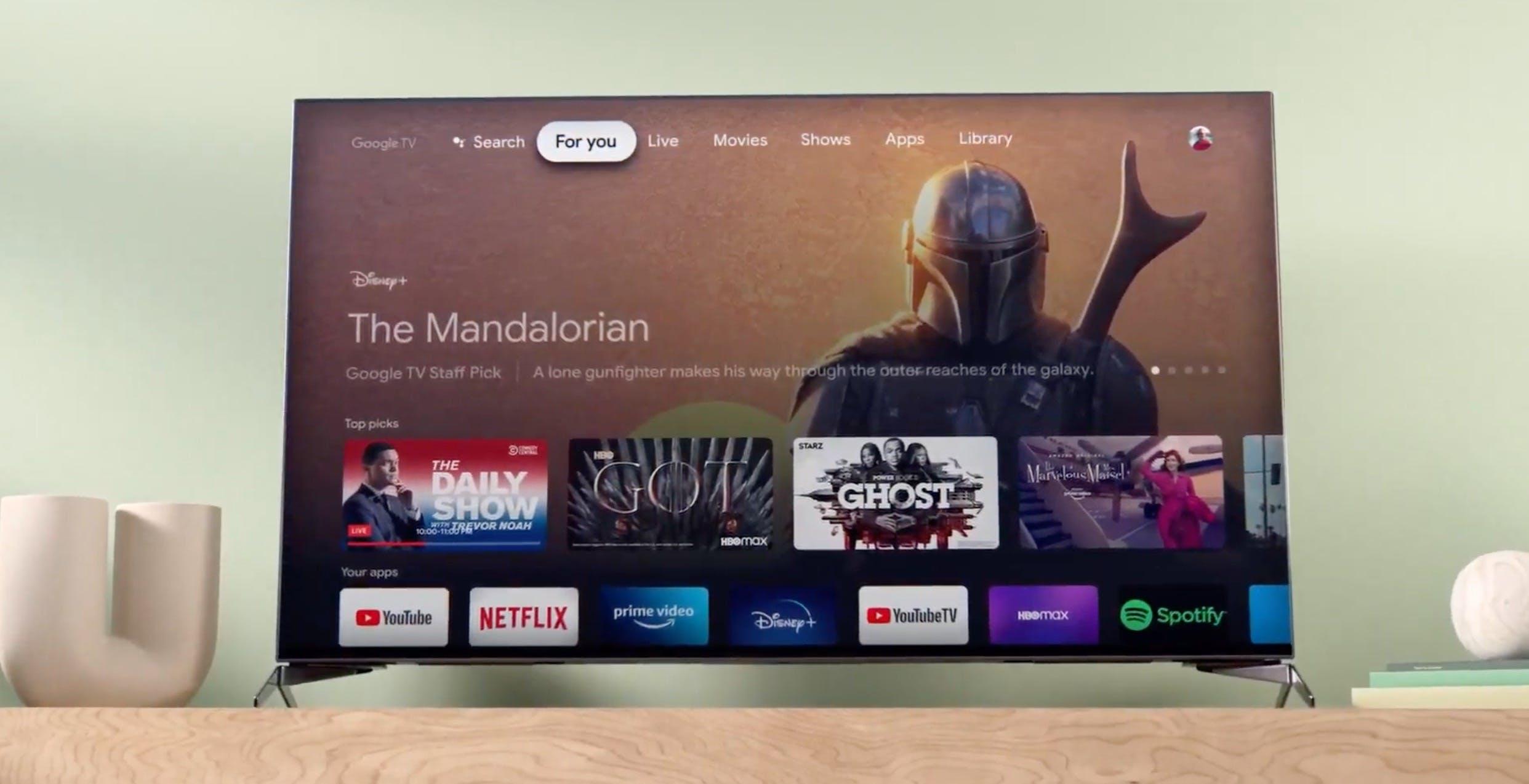I televisori con Google TV avranno un'opzione per escludere completamente tutta la parte smart