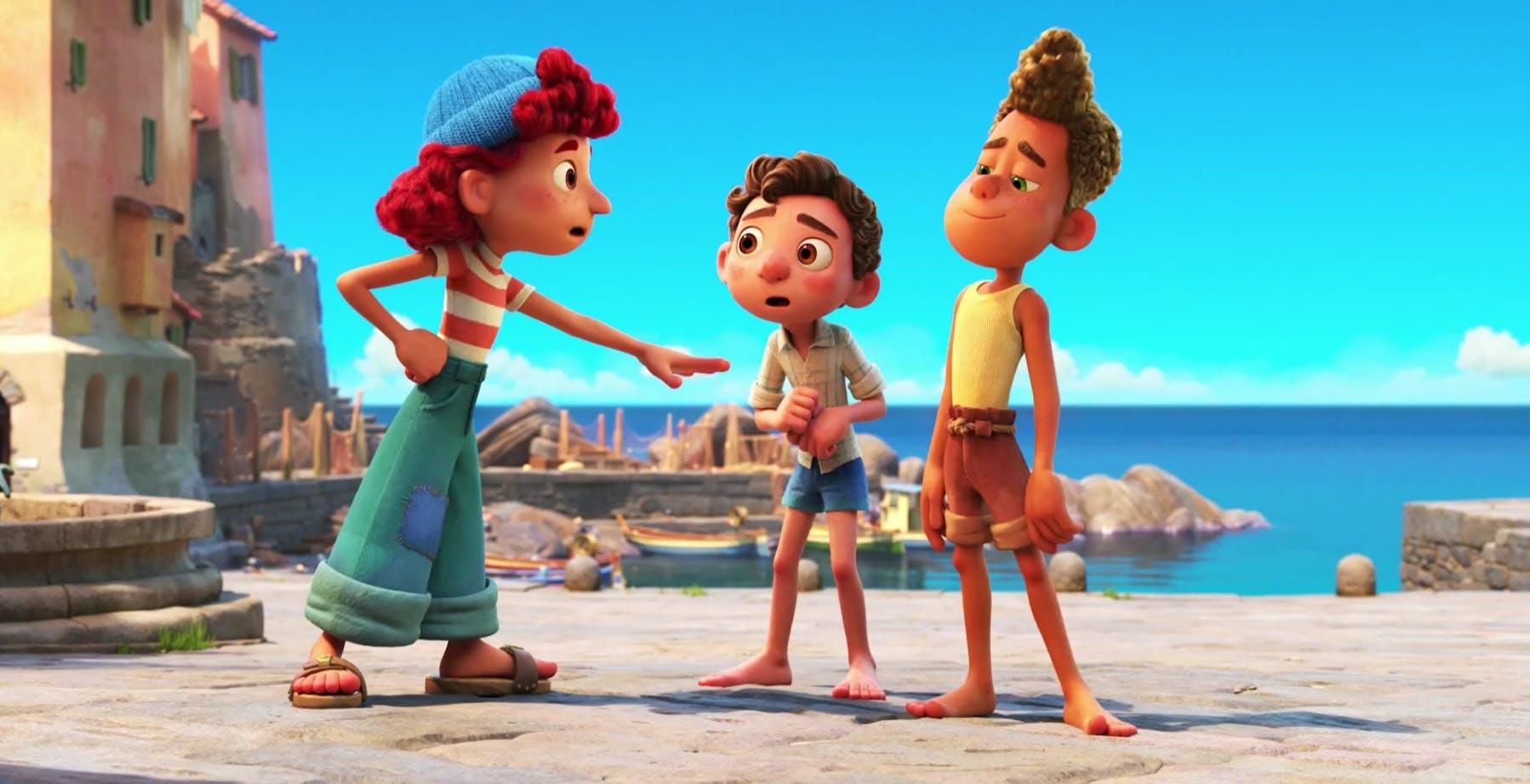 """È online il primo trailer di """"Luca"""", il nuovo film Pixar ambientato in Liguria"""
