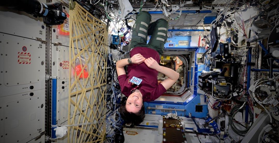Astro Samantha torna sulla Stazione Spaziale Internazionale