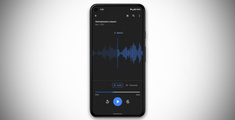 Quante novità per i Google Pixel. Registrazioni audio condivise, modalità sonno, nuovi sfondi e foto subacquee