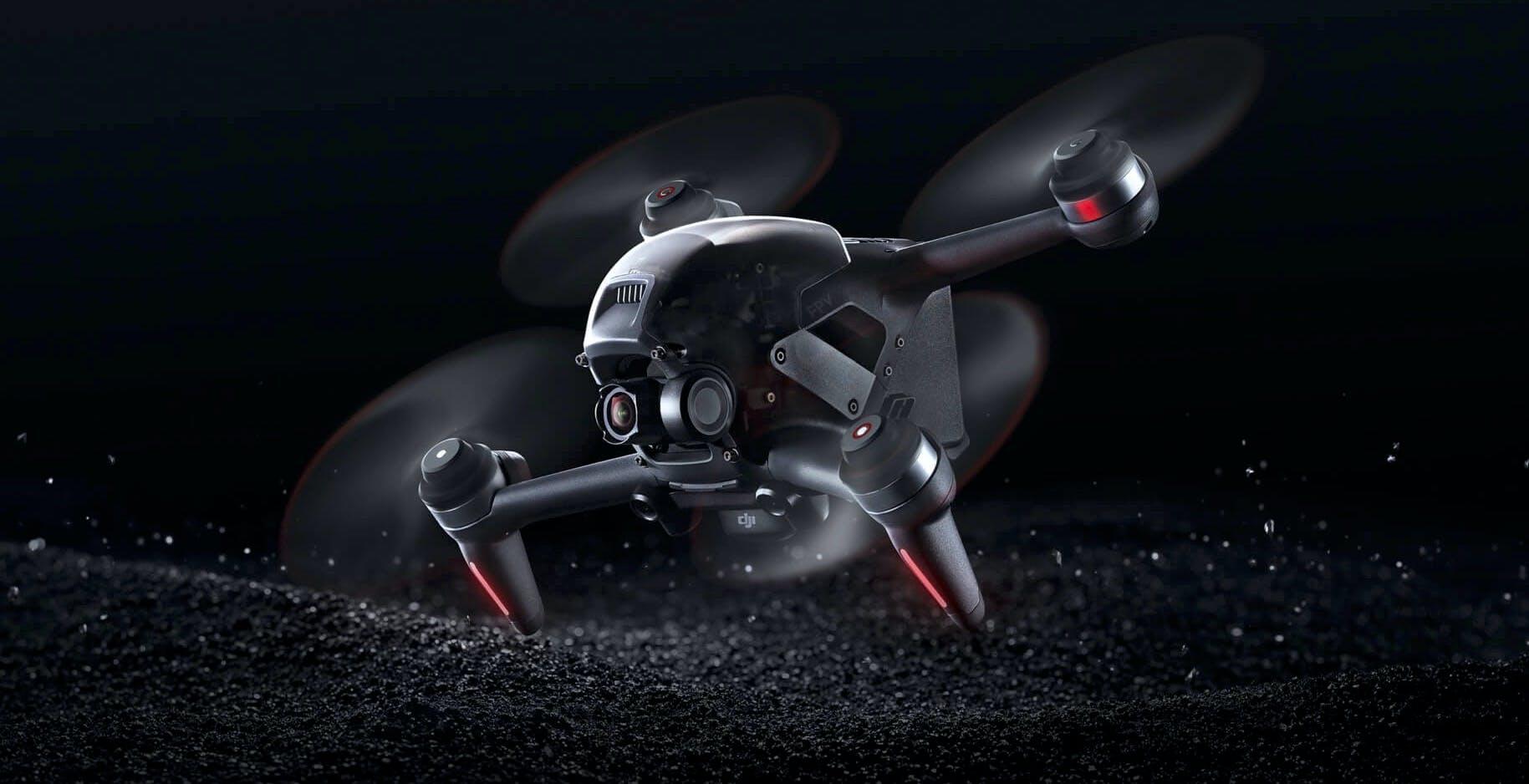 DJI FPV non è un normale drone, è adrenalina pura: riprese 4K a 140 km/h