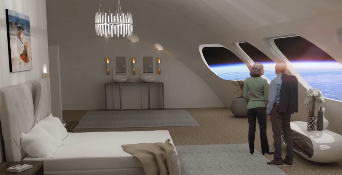Un hotel nello spazio nel 2027 con ristoranti, palestre e bar. Il progetto di Orbital Assembly Corporation