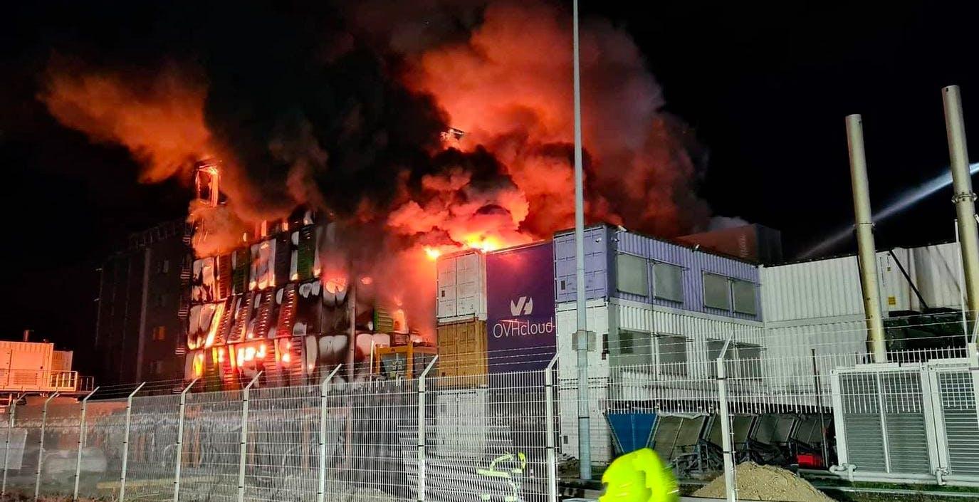 Il datacenter OVH di Strasburgo è andato distrutto per un incendio. Migliaia di siti irraggiungibili