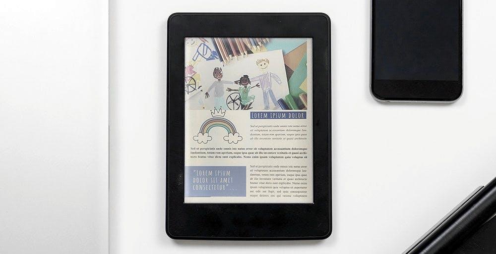 Gli eBook avranno colori più saturi e brillanti grazie al nuovo Kaleido Plus di E Ink