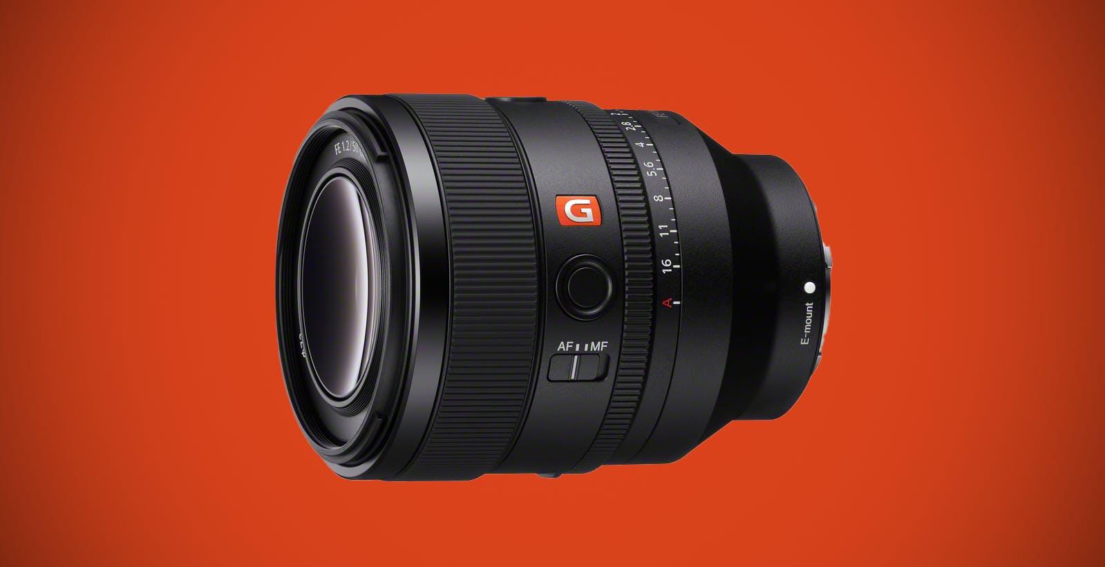 Sony FE 50 mm F1.2 GM, l'obiettivo G Master che mancava
