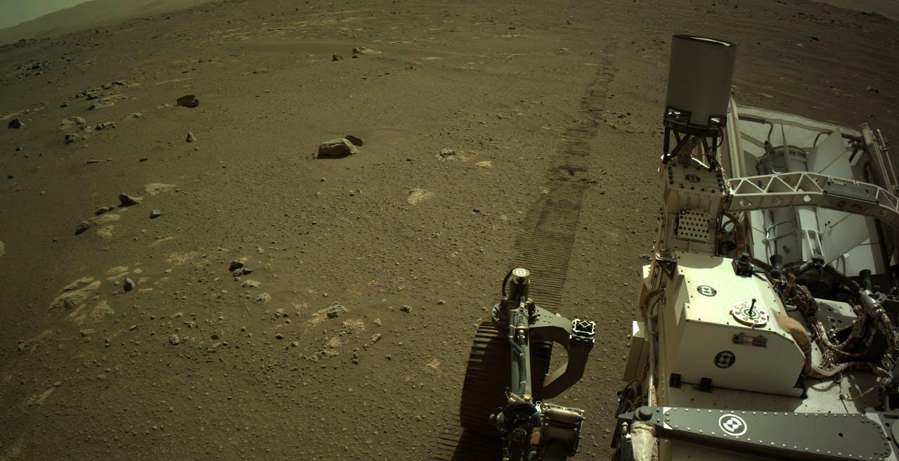 Che suono fa Perseverance quando si muove su Marte? Ecco l'audio registrato sul pianeta rosso