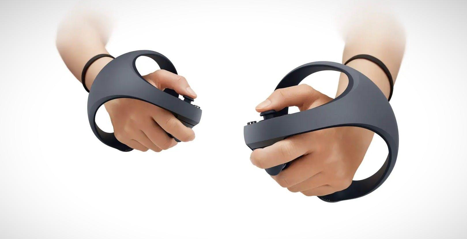 Il controller per il visore VR per PS5 impara da Oculus Quest: sferico e più ergonomico