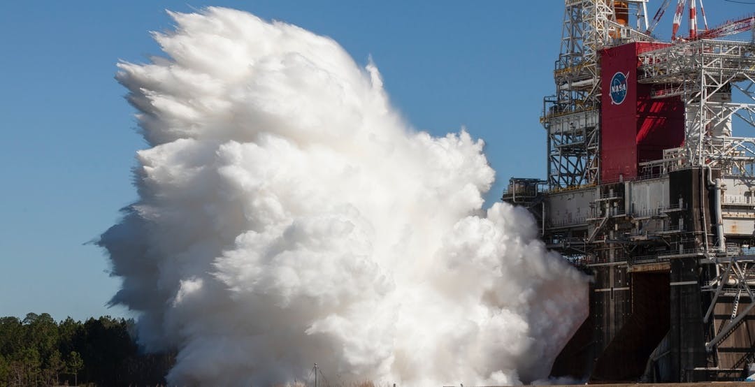 Il razzo più potente mai costruito dalla NASA ha superato il suo test più importante