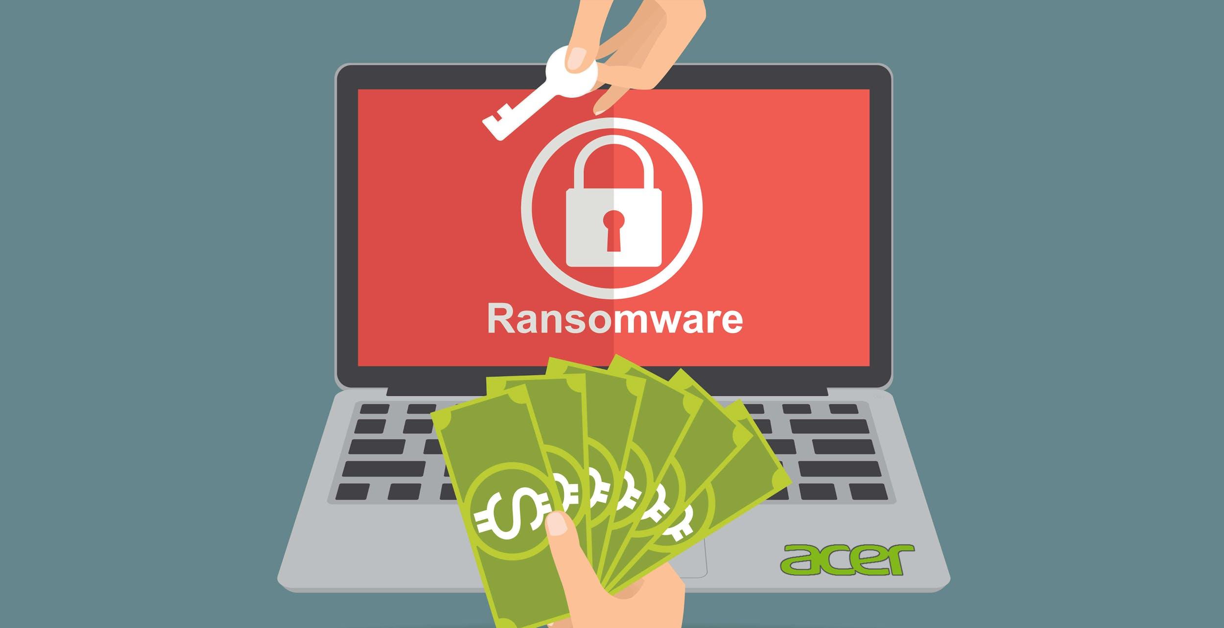 Bug di Exchange, Acer sotto attacco ransomware. Chiesti 50 milioni per non pubblicare i dati finanziari