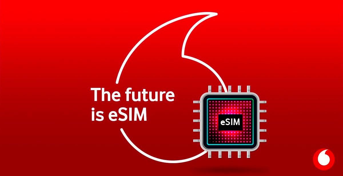 Le eSIM di Vodafone stanno arrivando nei negozi e online. Costeranno 1 euro