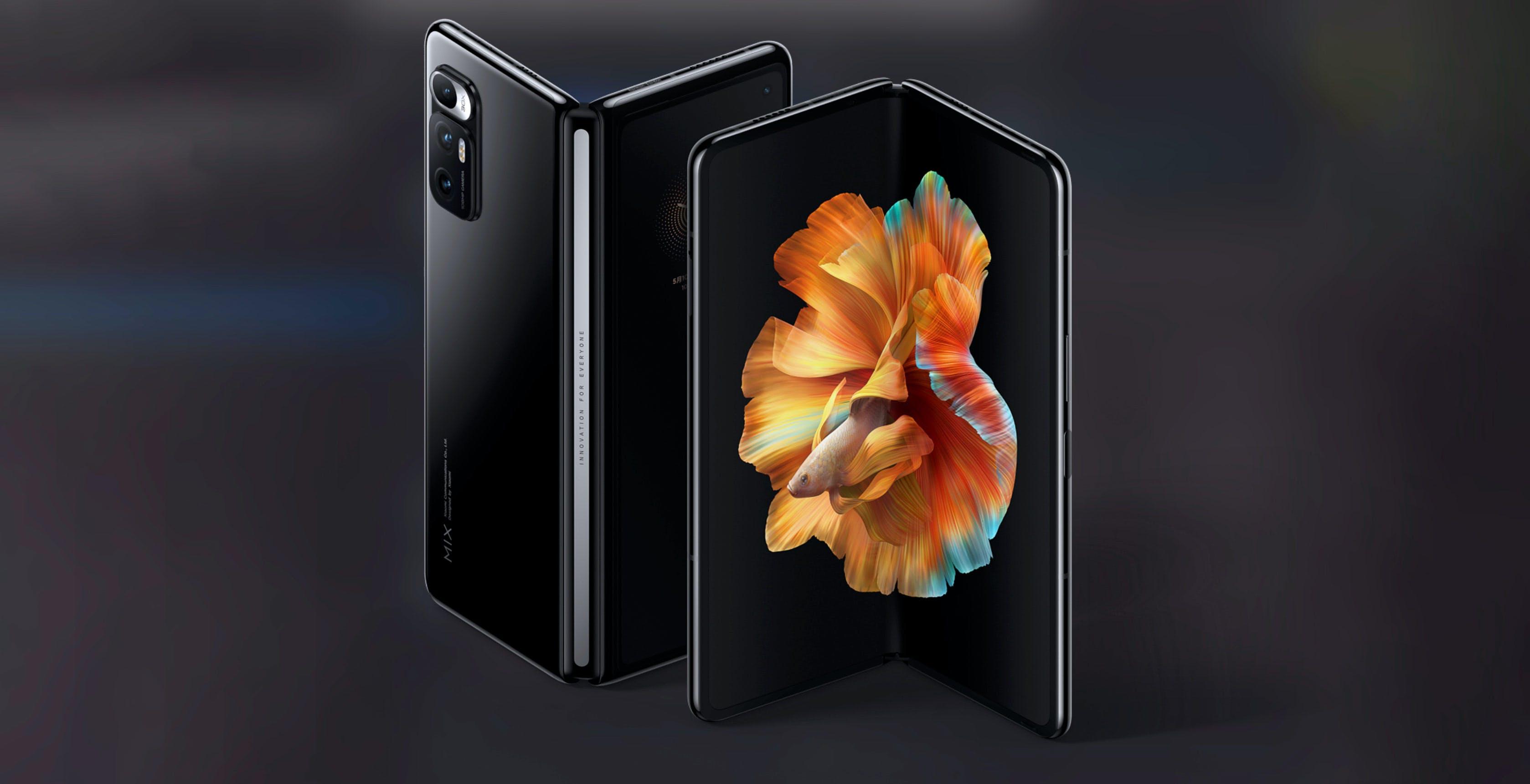 Xiaomi annuncia Mi Mix FOLD: si piega, ha una lente liquida e un processore fotografico fatto in casa