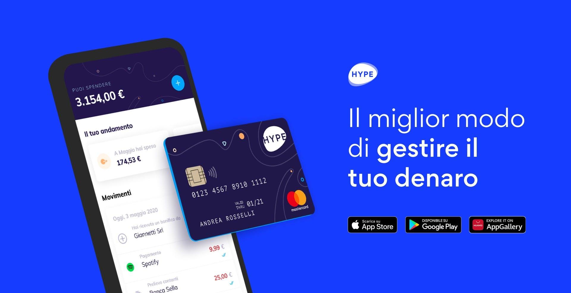 Ora i clienti Hype possono chiedere un prestito fino a 25 mila euro