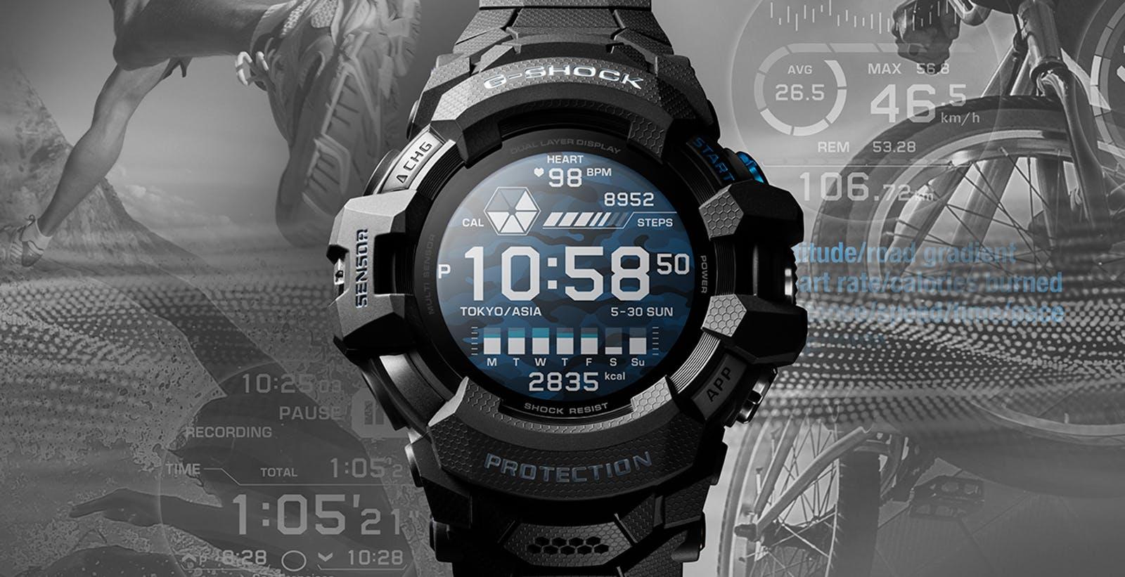 Casio ha annunciato il primo G-Shock con Wear OS