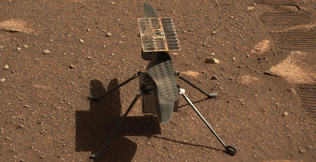 Ingenuity tenterà il primo volo su Marte domenica 11 aprile. Diretta NASA la mattina del 12 aprile