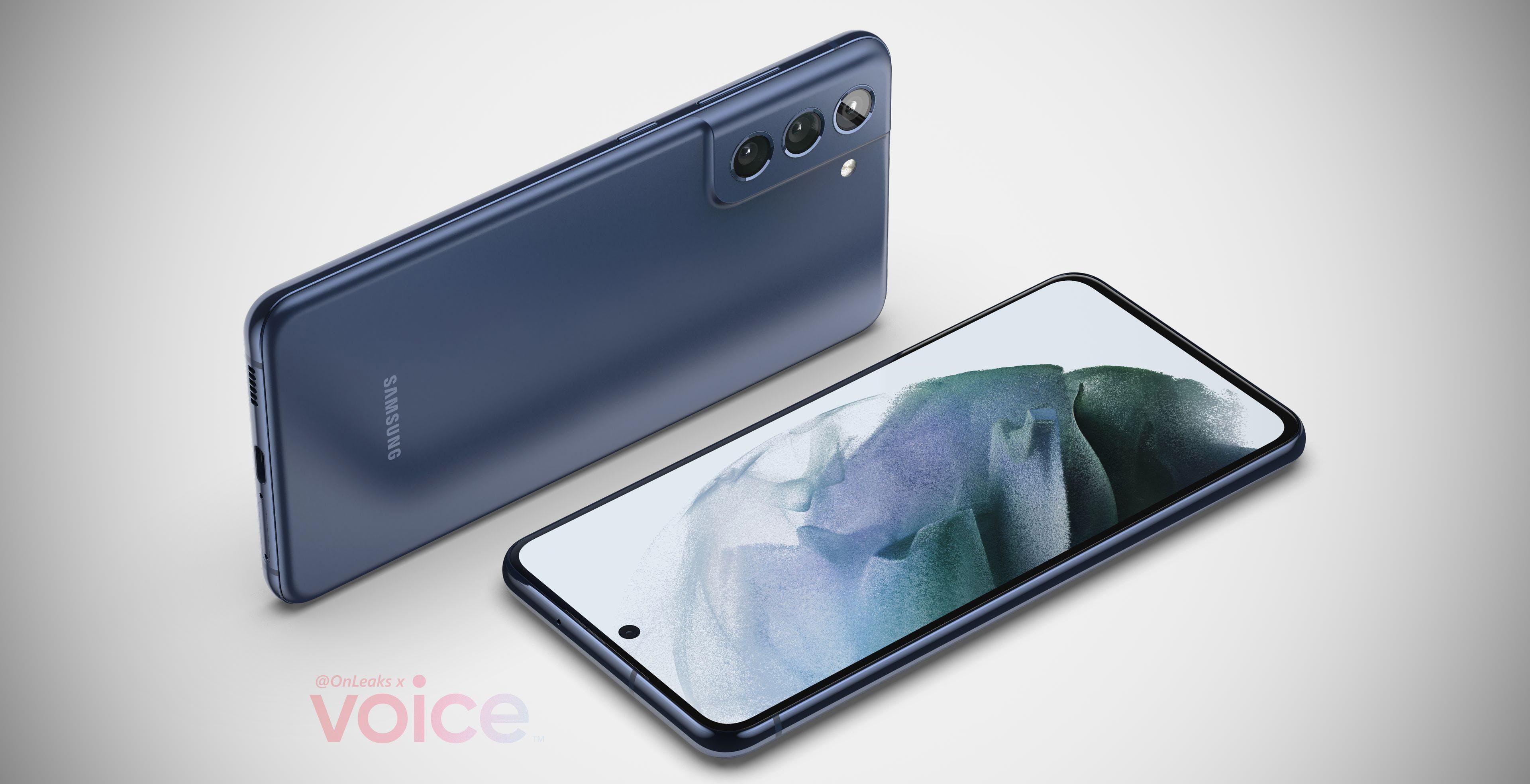 Samsung S21 FE, le prime immagini. Uguale al fratello maggiore