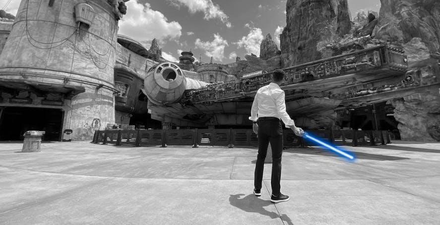 """Disney potrebbe avere costruito una """"vera"""" spada laser"""