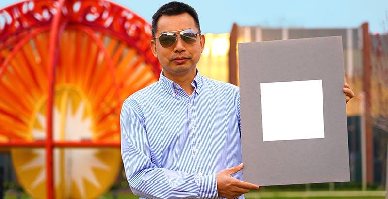 Hanno inventato una vernice che raffredda le superfici. E' ultra-bianca, e sarà un'arma contro il riscaldamento globale