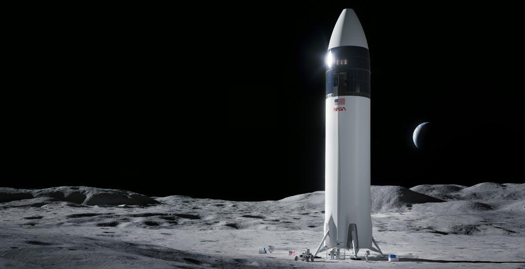 Sarà Starship di SpaceX a riportare l'Uomo sulla superficie della Luna con la missione Artemis III