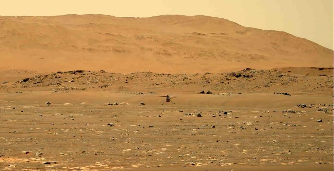 Ingenuity entra nella storia: è il primo veicolo ad aver volato su un altro pianeta