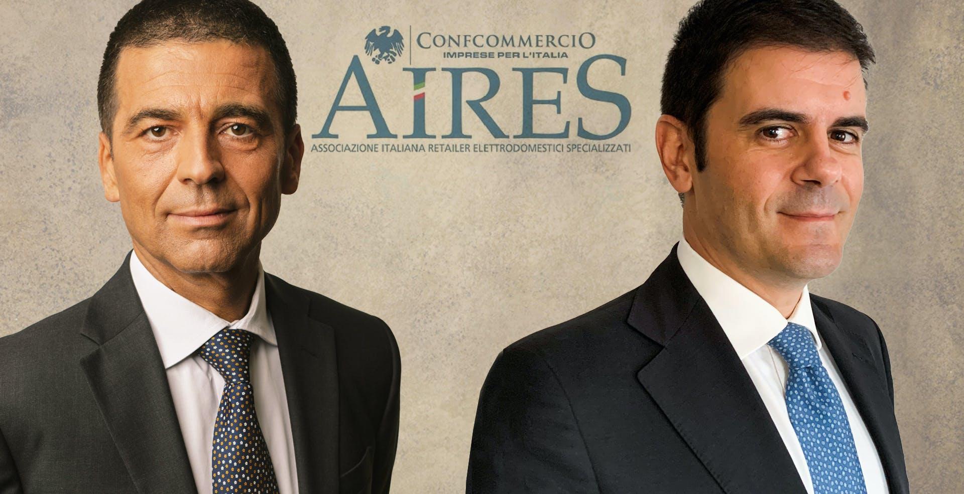 Aires: Scozzoli (Unieuro) confermato alla presidenza. Rientra MediaWorld con Cosimelli, vice-presidente