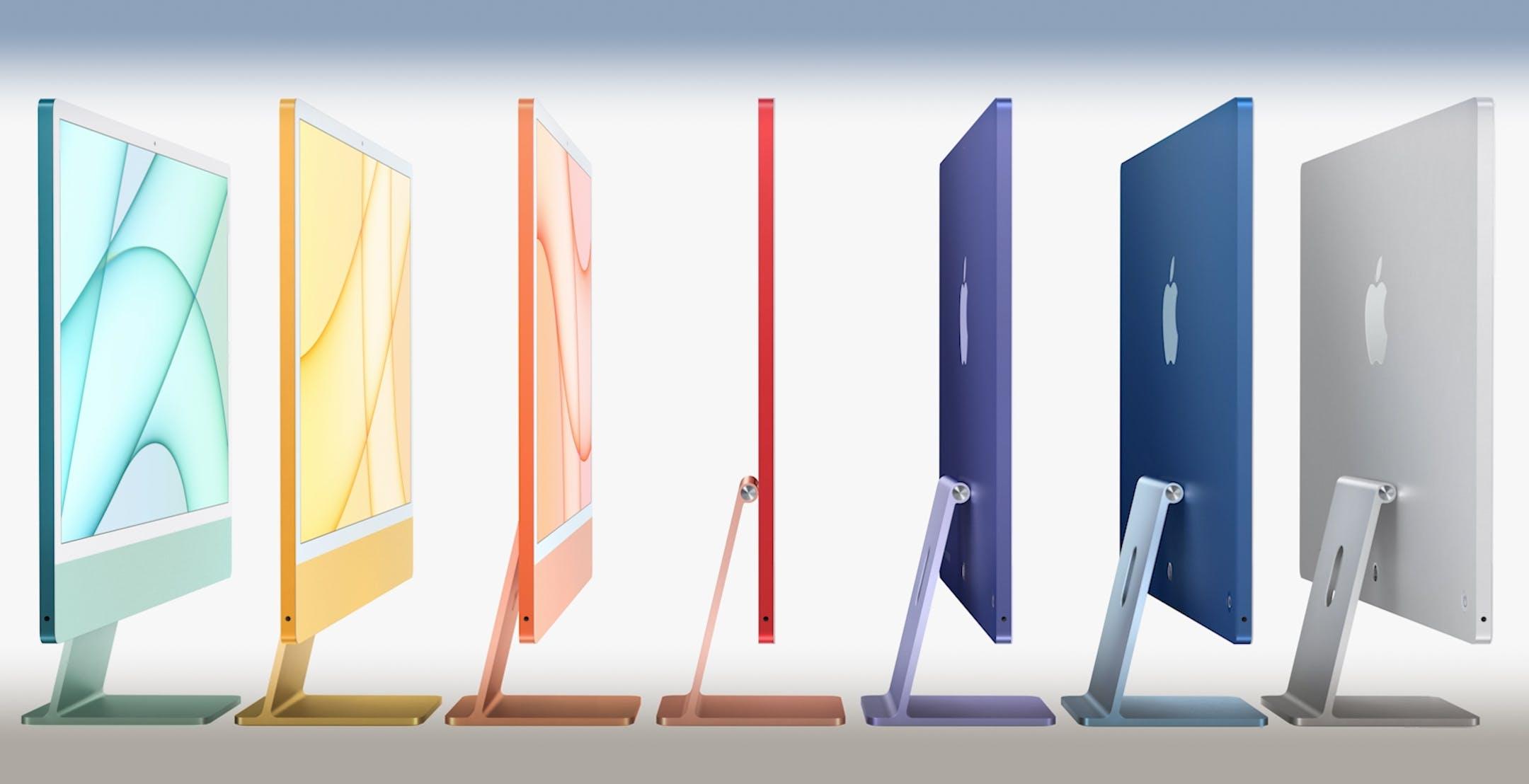 """Il nuovo iMac da 24"""" è unico al mondo: un vero computer spesso solo 11 mm"""