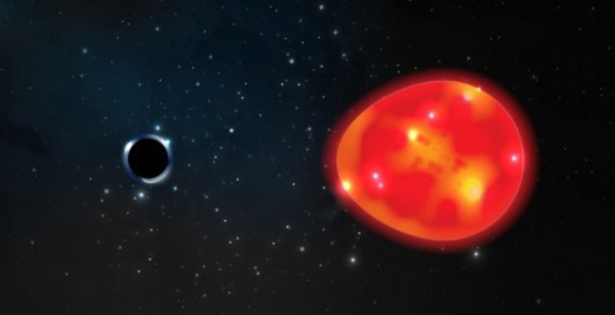 Scoperto il buco nero più piccolo e più vicino alla Terra