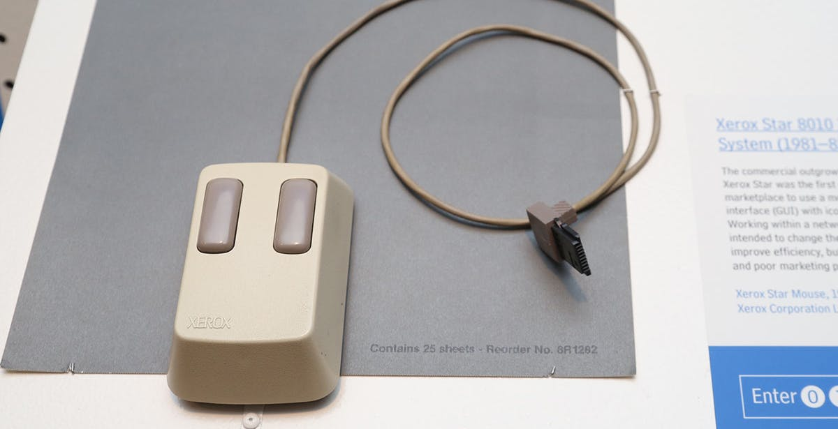 40 anni fa usciva sul mercato il primo mouse. Da allora mai più senza