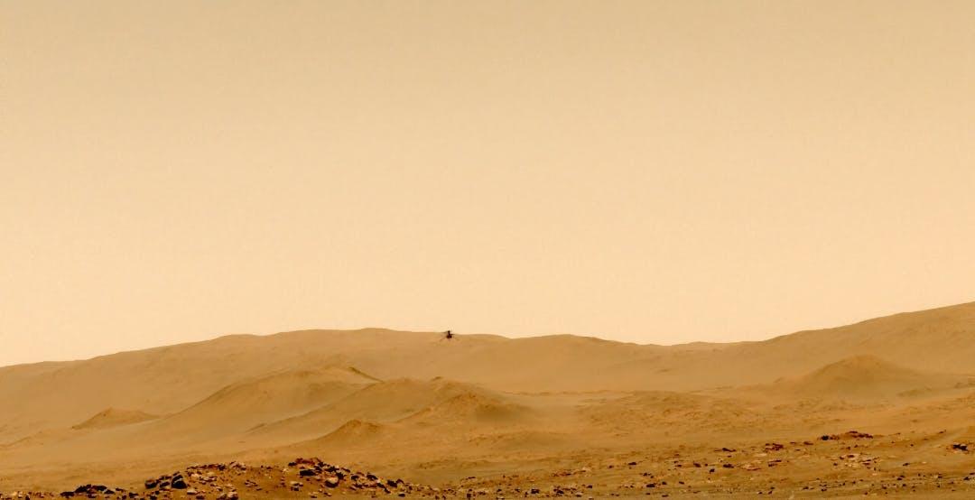 Inizia la nuova missione di Ingenuity. Registrato per la prima volta il suono dell'elicottero su Marte