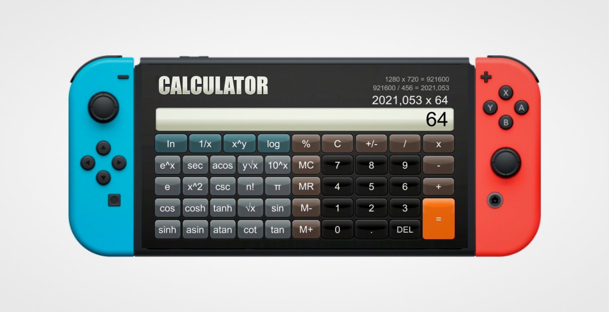 Su Nintendo Switch si può scaricare una calcolatrice scientifica e costa 9  euro | DDay.it