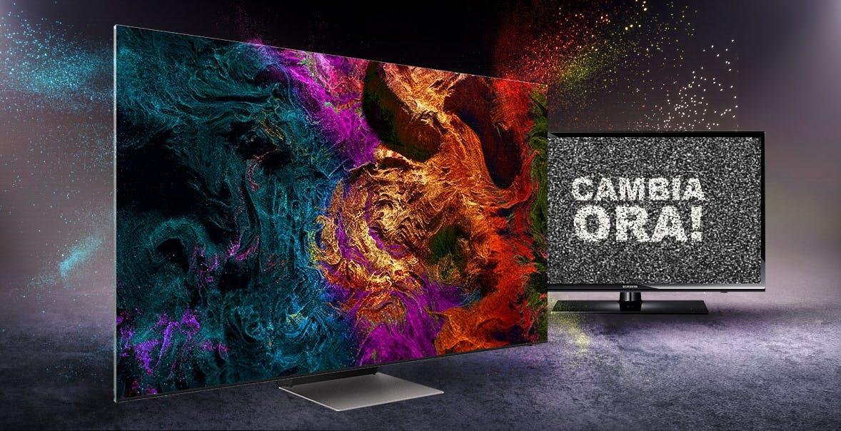 Promozioni per lo switch-off: Samsung supervaluta l'usato anche se marchiato LG o Sony
