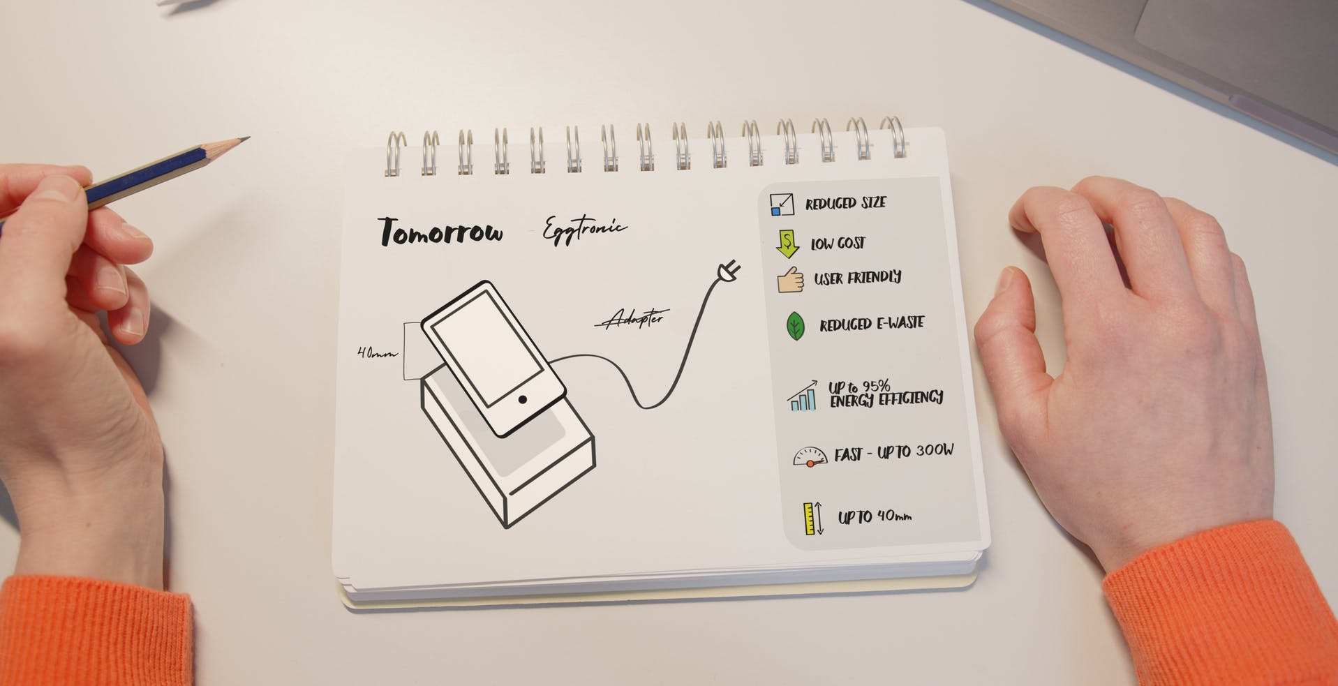 Eggtronic presenta la tecnologia di alimentazione E2WATT, ricarica wireless a 300 Watt e a 40 mm di distanza