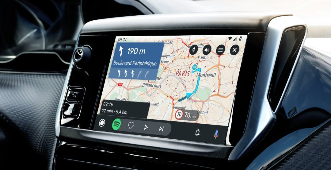 TomTom Go Navigation da oggi è compatibile anche con Android Auto