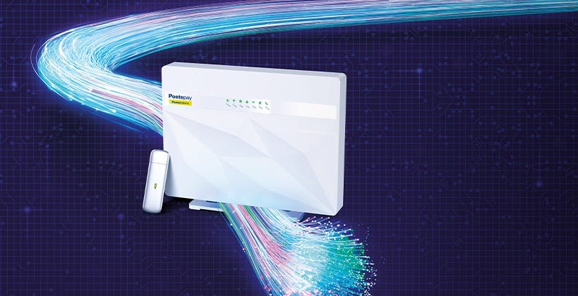 Ecco l'offerta in fibra ottica (anche FTTH) di Poste: arriva PosteCasa Ultraveloce